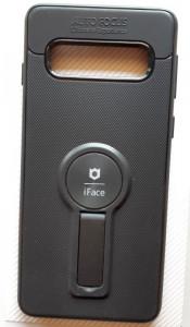 "TPU maska iFACE za Samsung SM-G973F Galaxy S10 2019 (6.1""), crna"