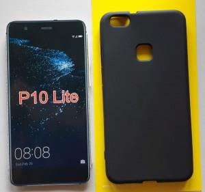 "TPU maska PUDDING za Huawei P10 Lite 2017 (5.2"") crna"