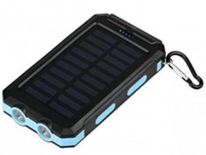 Prenosna Eksterna baterija Solar power bank Gembird HRD-T12 12000mAh 2xUSB, LED lampica, kompas