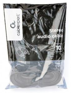 Audio Kabl HIFI RJA 3.5mm (muški) na 2 x RCA (muški) Gembird CCA-352-10M - dužina 10m