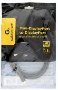 Kabl Mini DisplayPort na DisplayPort Gembird CCP-mDP2-6, 1.8 m