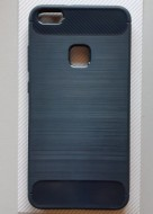 "Silikonska maska BRUSHED Huawei Ascend  P10 lite2017 (5.2""), crna ili teget"
