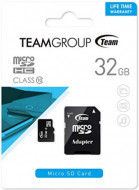 TeamGroup micro SDHC + SD adapter TUSDH32GCL1003, CLASS 10 32Gb