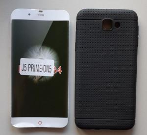 """TPU DOTS maska za Samsung Galaxy J5 Prime 2016, G570F (5.0"""") crna"""