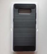 TPU maska BRUSHED SM-G955F GALAXY S8 PLUS BLACK