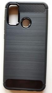 """TPU maska BRUSHED za Huawei P Smart 2020 (6.21"""") crna"""