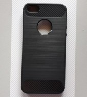 TPU maska BRUSHED za iPhone 5, iPhone 5S, iPhone SE (BLACK)
