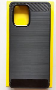 "TPU maska BRUSHED za Samsung SM-G770F, Galaxy S10 LITE 2020, A91 2020 (6.7"") crna"