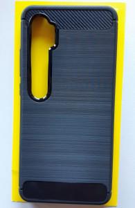 """TPU maska BRUSHED za Xiaomi Mi Note 10, Mi Note 10 PRO 2019 (6.47"""") crna"""