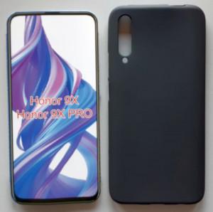 """TPU maska PUDDING za za Huawei P smart Pro 2019, Honor 9X (China) 2019 (6.59"""") crna ili bela"""