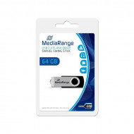 USB flash 2.0 Mediarange Swivel 64Gb
