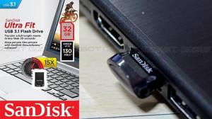 USB flash memorija SanDisk Ultra Fit USB 3.1 32GB