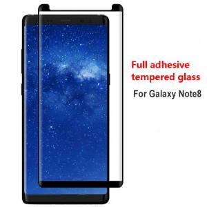 Zaštitno Kaljeno staklo 5D FULL GLUE SM-G955U Galaxy S8 Plus zakrivljeno sa crnim rubom