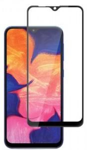 """Zaštitno, kaljeno staklo 5D Full Glue za Samsung Galaxy A10 2019 (6.2"""") crni rub"""