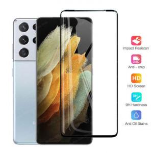 "Zaštitno kaljeno staklo 5D Full Glue za SAMSUNG SM-G998F, Galaxy S21 Ultra 2021 (6.8"") CRNI RUB"