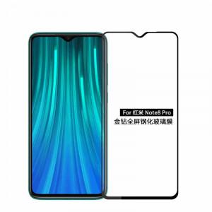 """Zaštitno kaljeno staklo 5D Full Glue za Xiaomi REDMI Note 8 Pro 2019 (6.53"""") crni rub"""