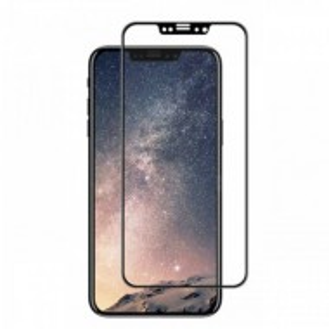 "Zaštitno Kaljeno staklo ZAKRIVLJENO 5D glass za iPhone X (5.8 "") 2018, crni rubovi"