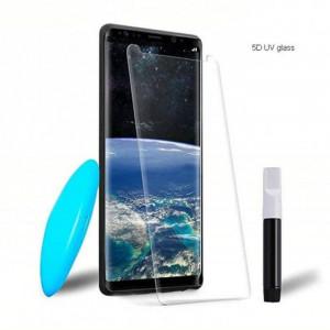 "Zaštitno staklo 5D FULL GLUE UV za SM-G950F GALAXY S8 2017 (5.8"") ZAKRIVLJENO providno"
