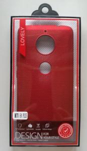 TPU BREATH maska za Motorola Moto E4 plus  crvena