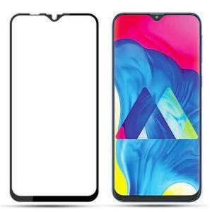 "Zaštitno, kaljeno staklo 5D Full Glue za Samsung SM-M205F Galaxy M20 2019 (6.3"") D zakrivljeno, crni rub"