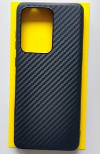 """TPU maska CARBON 0.3mm ultra tanka za Samsung Galaxy S20 Ultra 2020 (6.9"""") crna"""