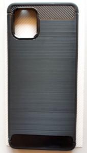 """TPU maska BRUSHED za Samsung SM-N770F, Galaxy Note 10 Lite 2020, A81 (6.7"""") crna"""
