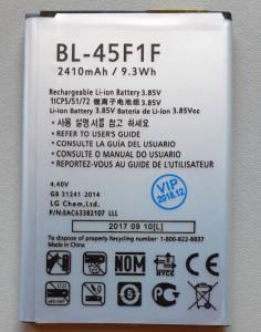 Baterija BL-45F1F za LG K8 2018, LG K9 2018