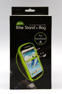 Držač telefona na biciklu TORBICA, crvena ili plava