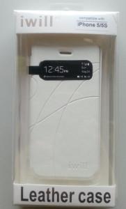 Futrola preklopna s prozorčićem za iPhone 5, iPhone 5S, iPhone SE DIP5006