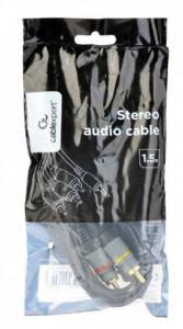 Gembird CCAP-4P3R-1.5M RJA 3.5 mm 4-pin na RCA audio-video kabl, 1.5m