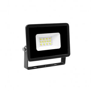 LED reflektor 10W Prosto LRF013EW-10/BK 6000K hladno bela