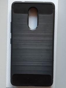 "TPU BRUSHED maska za Lenovo K6 Note 2016 (5.5"") crna"