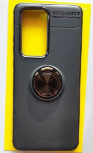 "TPU Magnet RING maska za Huawei P40 Pro 2020 (6.58"") crna"