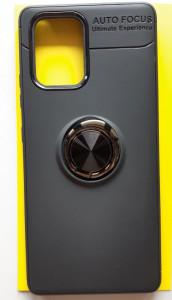 "TPU Magnet RING maska za Samsung SM-G770F, Galaxy S10 LITE 2020, A91 2020 (6.7"") crna"