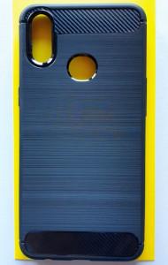 """TPU maska BRUSHED za Samsung SM-J107F Galaxy A10S 2019 (6.2"""") crna"""