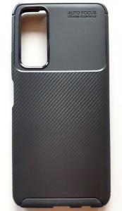 """TPU maska CARBON za Huawei P smart 2021, Y7A 2020 (6.67"""") crna"""