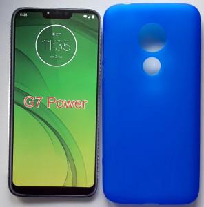 """TPU maska PUDDING za Motorola Moto G7 Power 2019 (6.2"""") više boja"""