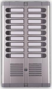 URMET audio interfon za 18 korisnika, interfon za 18 stanova