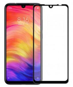 """Zaštitno, kaljeno staklo 5D Full Glue za Xiaomi REDMI Note 7 2019, Redmi Note 7Pro 2019, Redmi 7 2019 (6.3"""") crni rub"""