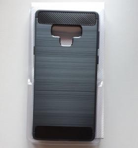 TPU Brushed maska za SM-N960F Galaxy Note 9 2018, crna