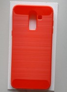 TPU BRUSHED maska za Galaxy SM-J810F, Galaxy J8 2018, crvena