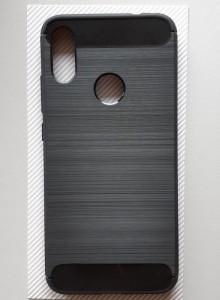 """TPU maska BRUSHED Xiaomi REDMI Note 7, Note 7 Pro 2019 (6.3""""), crna"""