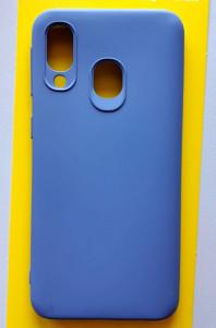 "TPU maska SKIN Color za Samsung SM-A405F Galaxy A40 2019 (5.9"") PASTELNO LJUBIČASTA"