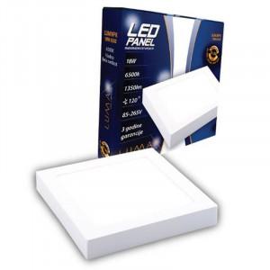 LED panel nadgradni ČETVRTASTI 18W LUMNPK-18W, 3000K ili 6500K