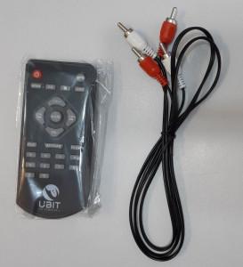 Bluetooth Zvučnici sistem 2.0 UBIT TS-215 TANZEN, 120W