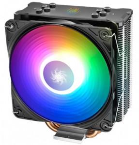 Hladnjak DeepCool GAMMAXX GT A-RGB UNI kuler 130W 120mm.Fan 500~1650rpm 64CFM 28dBa Intel/AMD 676g 4xpipes