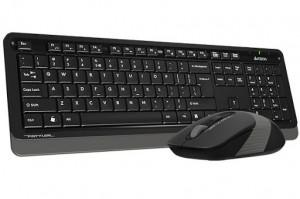 Tastatura USB plus miš USB A4tech Fstyler A4-F1010 , tastatura YU-LAYOUT + mis USB, Grey