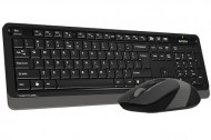 Tastatura USB plus miš USB A4tech Fstyler A4-F1010 , YU-LAYOUT + mis USB žično povezivanje, Grey