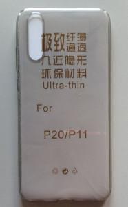 TPU maska 0,3mm za Huawei P20 providna boje dima