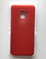 TPU maska BREATH za SM-A730F GALAXY A8 PLUS 2018 red